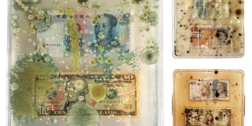 Contaminated banknote images reveal how money gets caked in bacteria