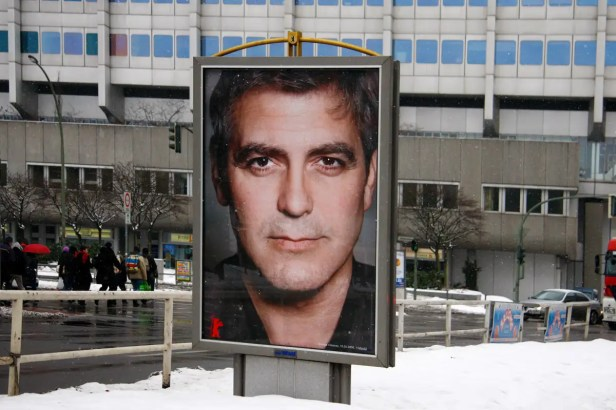 Poster of George Clooney