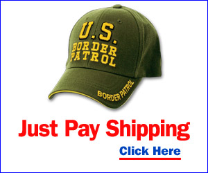 Get the U.S. Border Patrol Cap Free, Just Pay Shipping