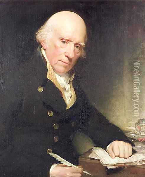 Portrait Of Warren Hastings Oil Painting Reproduction By Sir William Beechey