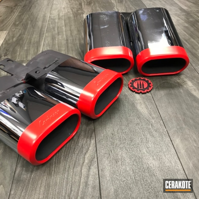 exhaust tips done in cerakote gloss