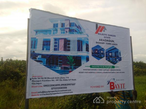 2142619 345415 landed properties  majestic garden estate aradagun mixed use land for sale aradagun badagry lagos  - ASCON trains assembly clerk, 6 directors in Nasarawa on financial autonomy