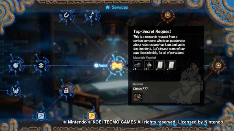 5 Top Secret Request