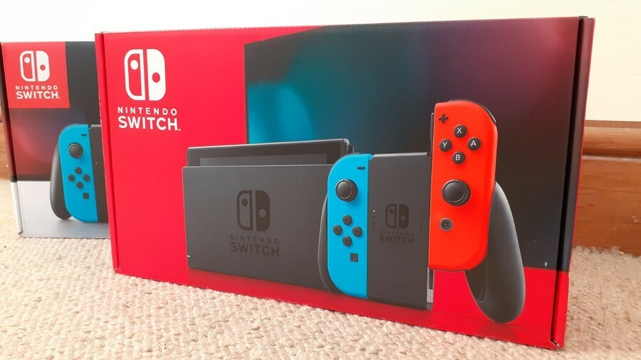 Switch Retail Boxes