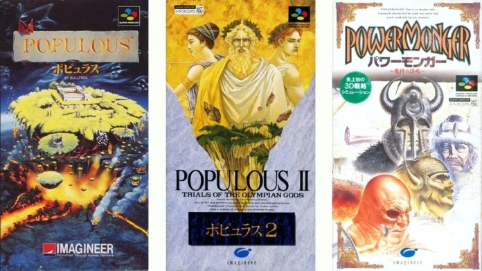 Imagineer would also publish Populous II and PowerMonger in Japan