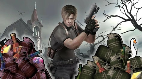 Leon Kennedy And The Very Full Attaché Case