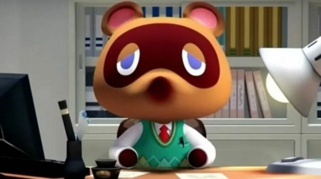 The expression of Tom Nook illustrates what we are thinking ...