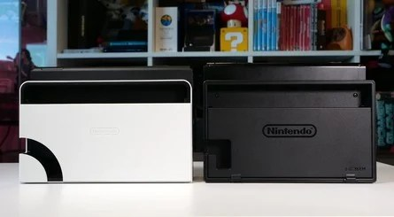 The dock is hiding a wide range of differences, some of which are purely cosmetic.  The LAN port will come in handy, though.  A recent teardown suggests the dock is capable of 4K 60fps, too.