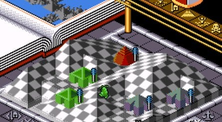 The SNES version of Populous includes several exclusive levels, including 'Bit World', where buildings are Nintendo consoles