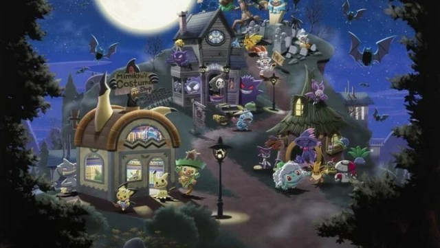 Haunted Pokemon Village