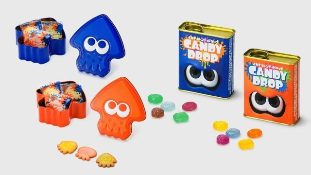 Japan Has New Splatoon Merch Including Cookies And Candy, And We're Not Jealous At All 2