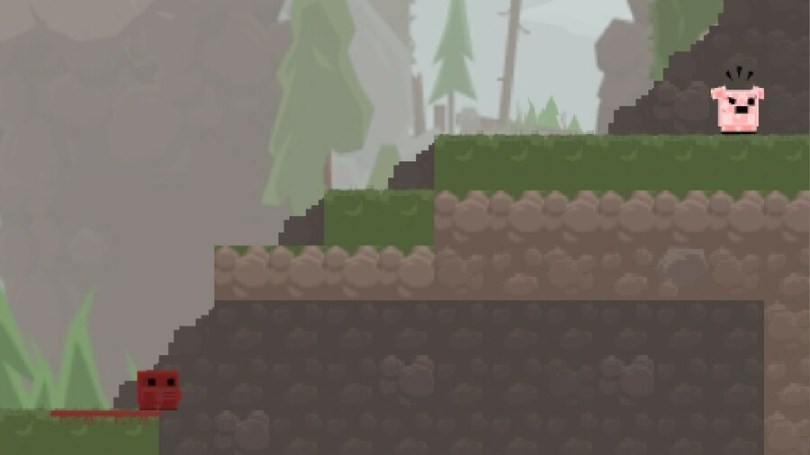 Meat Boy is the Flash-based precursor to Super Meat Boy