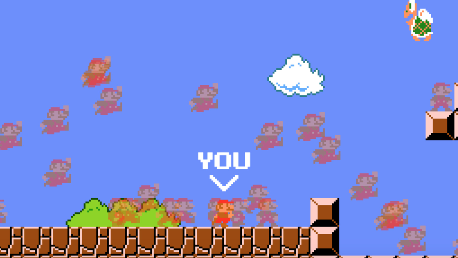 Fan Makes Free-To-Play Super Mario Battle Royale, And It's