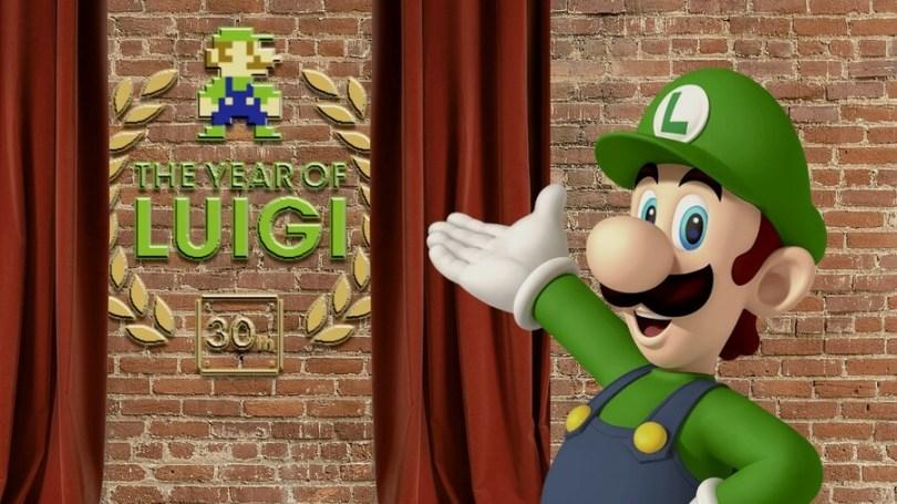 Luigi at the opening of the Year of Luigi