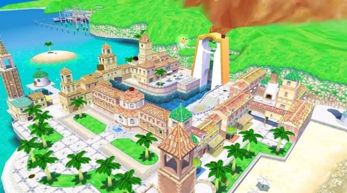 Delfino Plaza from Super Mario Sunshine