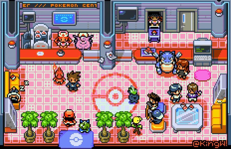 The Pokémon Centre