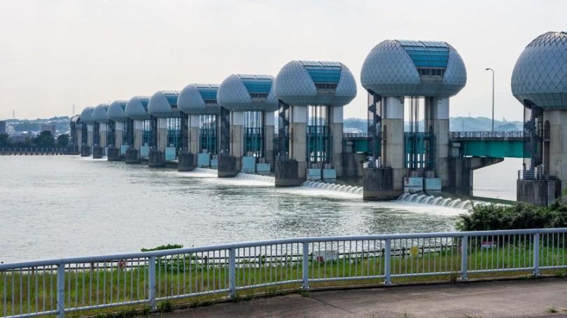 Nagara River Estuary Weir (Mie)