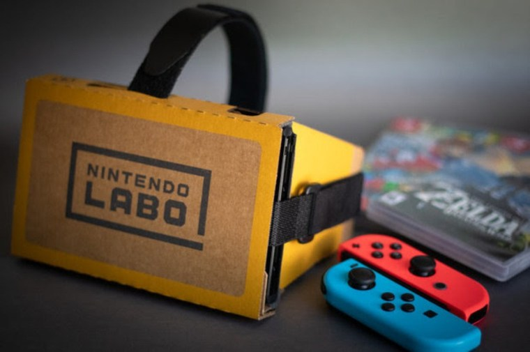 Image result for sweat proof gaming labo vr