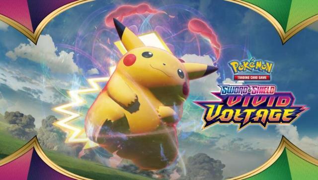 Pokemon Vivid Voltage