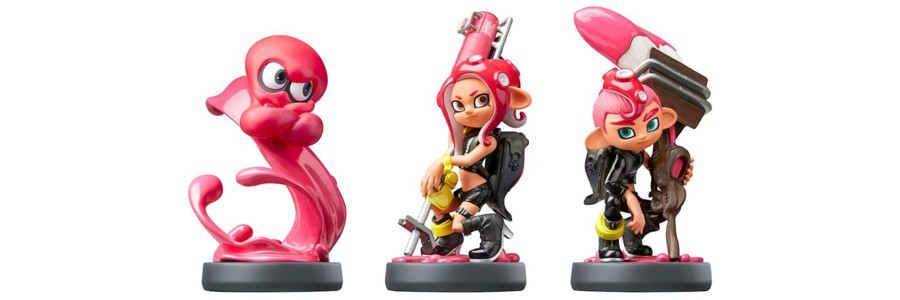 Octoling Triple Pack amiibo