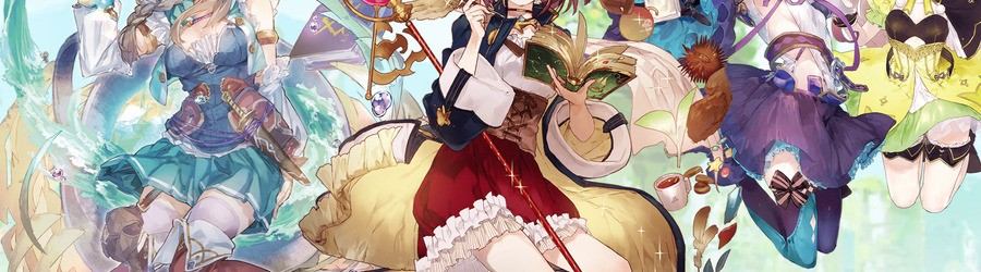 Atelier Mysterious Trilogy Deluxe Pack (Switch eShop)