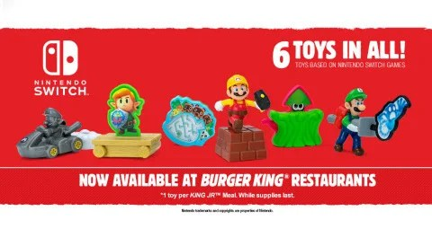 Nintendo x Burger King
