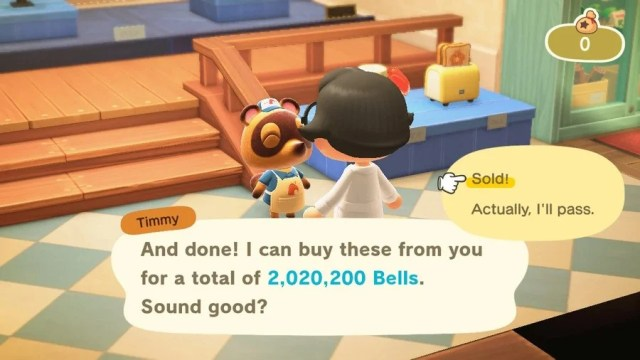 Animal Crossing New Horizons Stalk Market
