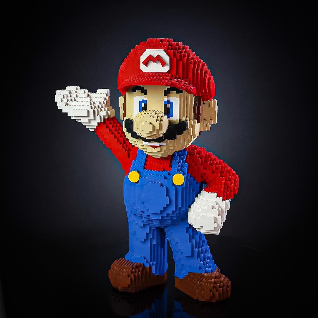 Bricker Builds - LEGO Mario