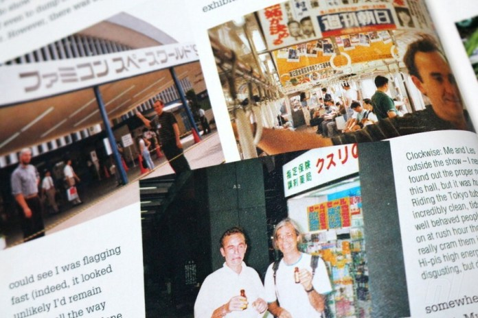 Molyneux documented one of his many Japanese visits in the December 1992 issue of UK magazine Super Play