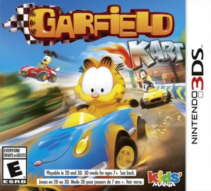 Garfield Kart Review  3DS    Nintendo Life Garfield Kart