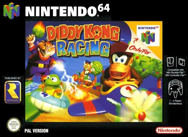 Image result for Diddy Kong Racing