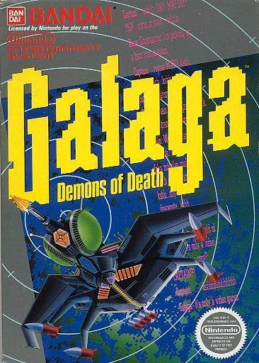 Image result for galaga nes
