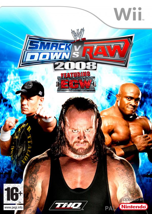 WWE Smackdown! vs RAW 2008 Review - Wii   Nintendo Life