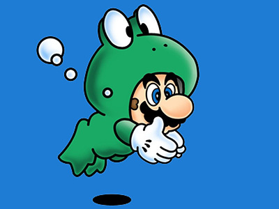 Image result for super mario frog suit