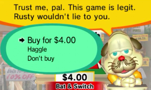 Rusty's Real Deal Baseball's bargain system