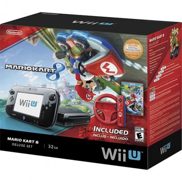 Wii U Mario Kart 8 Deluxe Set - Front