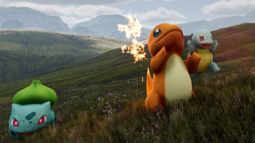 Pokemon Red Unreal Engine 4