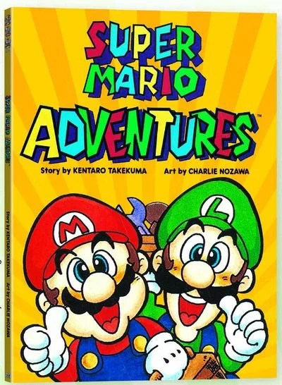 Super Mario Adventures Is Being Reprinted As A Graphic