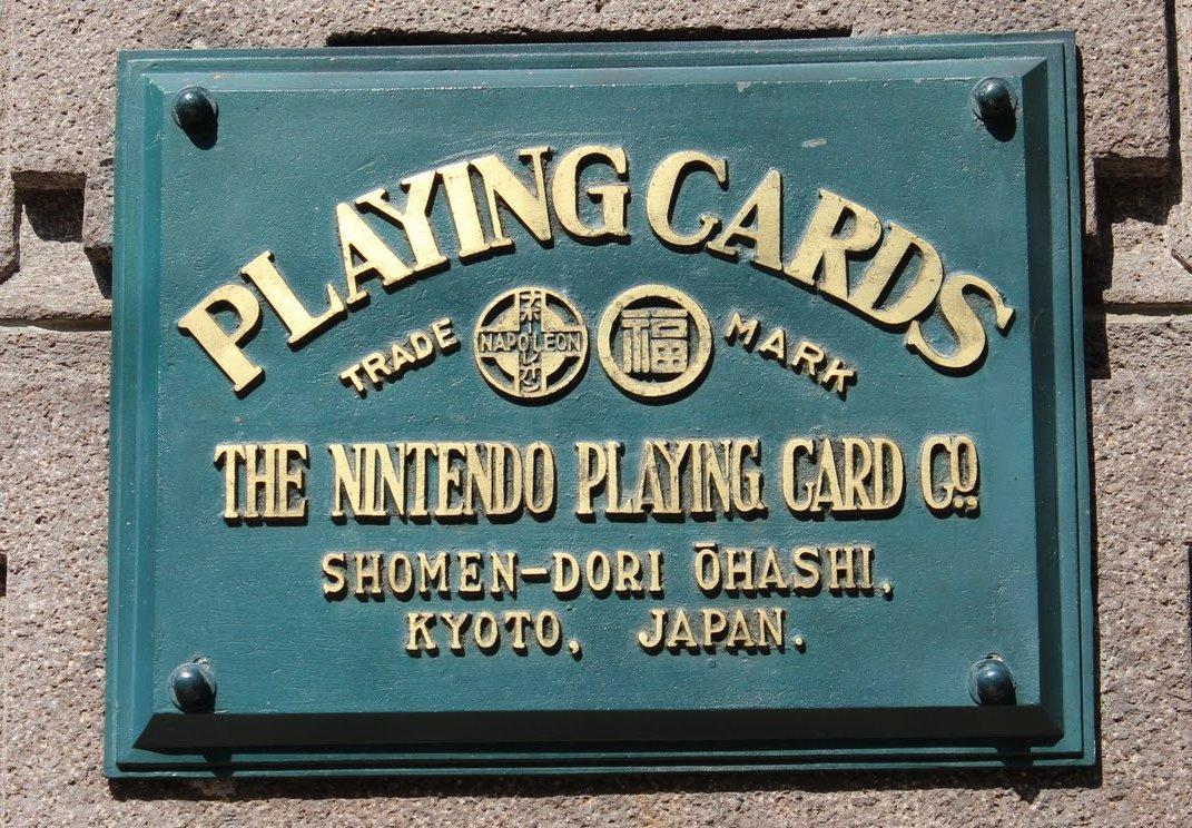 Pertama berdiri sebagai perusahaan yang memproduksi kartu permainan - 7 Fakta Mengenai Nintendo, Developer Game Tertua Di Dunia