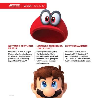 Nintendo E3 2017 Press Conference Schedule - Guide ...