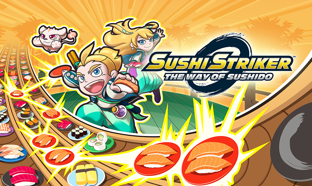 Image result for sushi striker the way of sushido