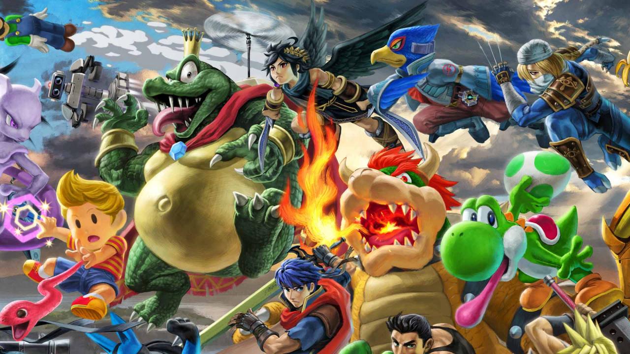 Nintendo Set To Bring Smash Bros Ultimate To College