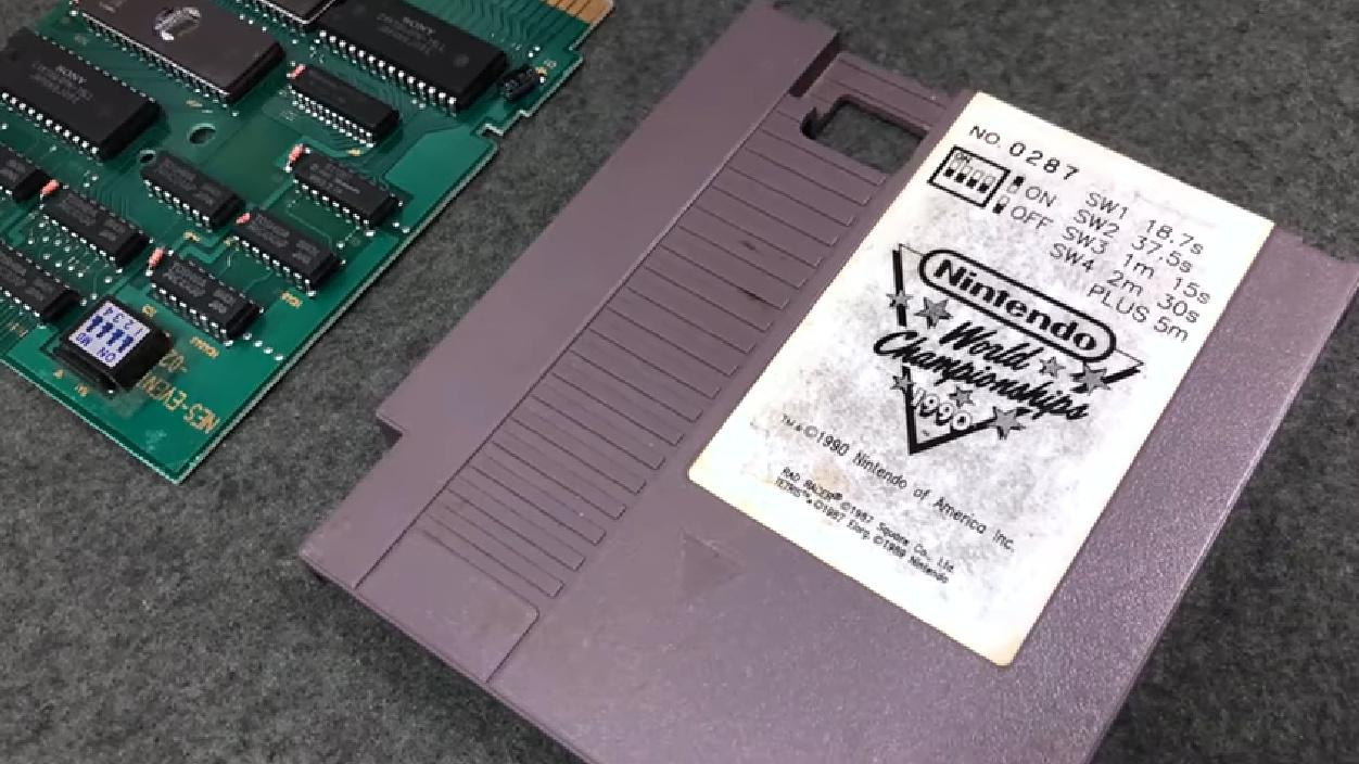 Resultado de imagen para nintendo world championship cartridge