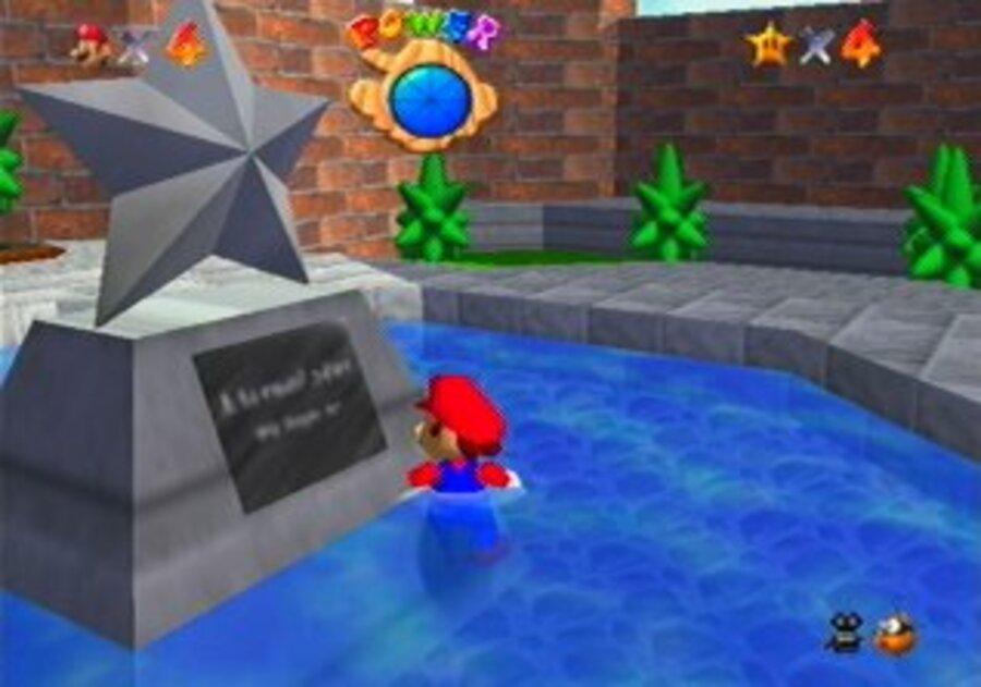 Super Mario 64 N64 Nintendo 64 Screenshots