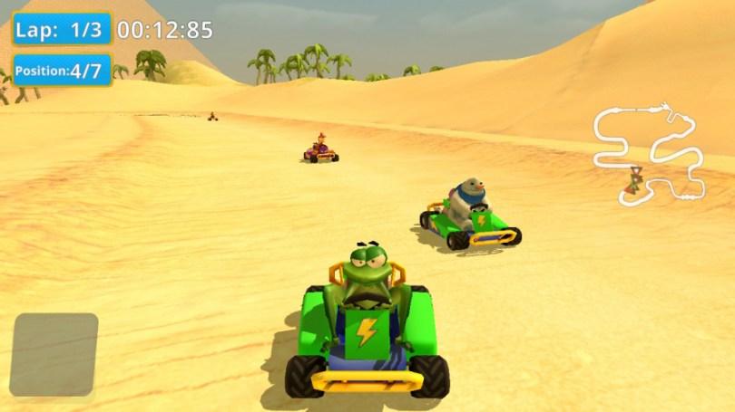 Moorhuhn Kart 2 Review - Screenshot 2 of 4