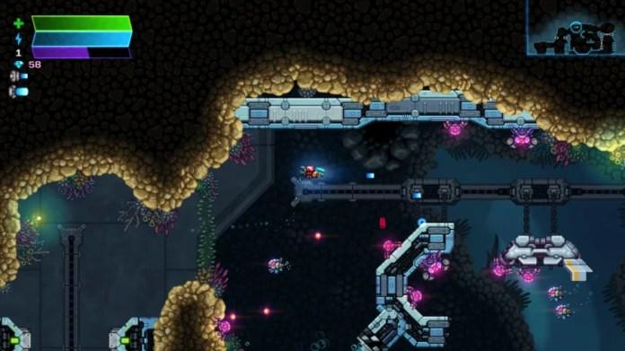 Astro Aqua Kitty Review - Screenshot 1 of 7