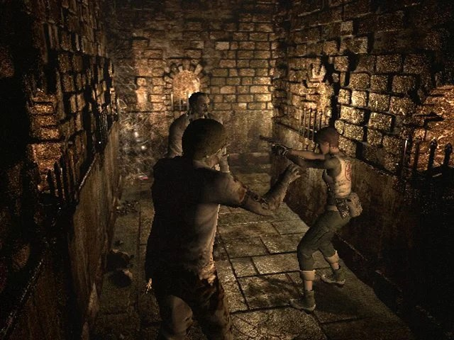 Resident Evil 0 GCN GameCube Screenshots