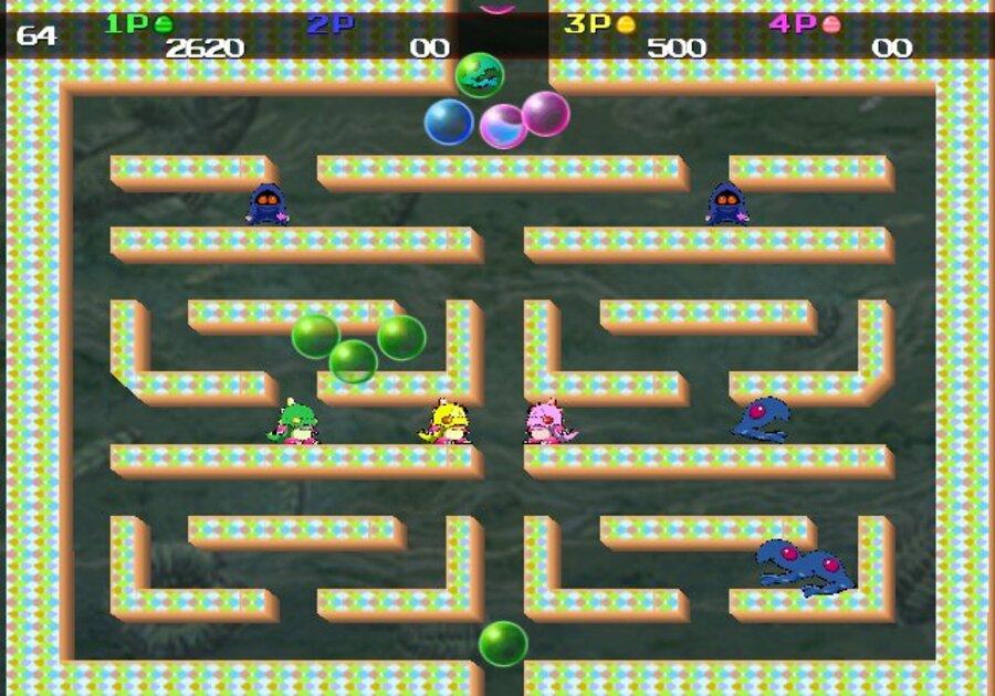 Bubble Bobble Plus WiiWare Screenshots