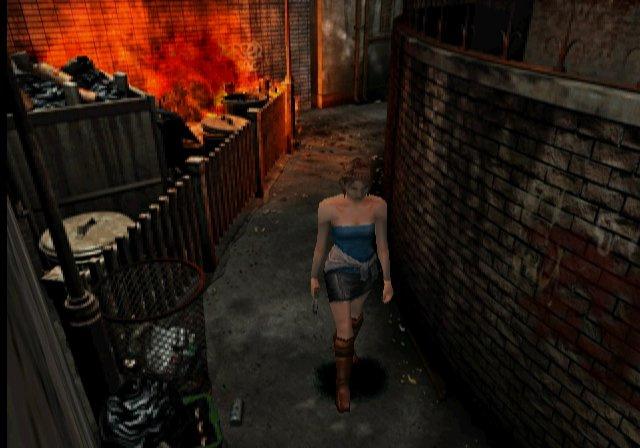 Resident Evil 3 Nemesis GCN GameCube Screenshots