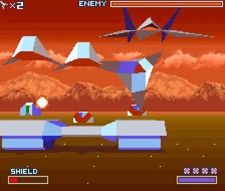 Star Fox SNES Super Nintendo Screenshots